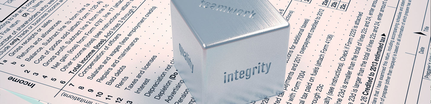 Integrity is at the center of all we do